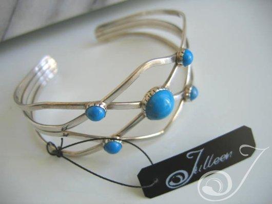 Cleopatra Turquoise Bracelet