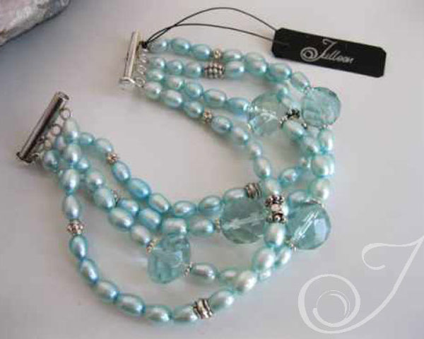 Lady Aqua Bracelet