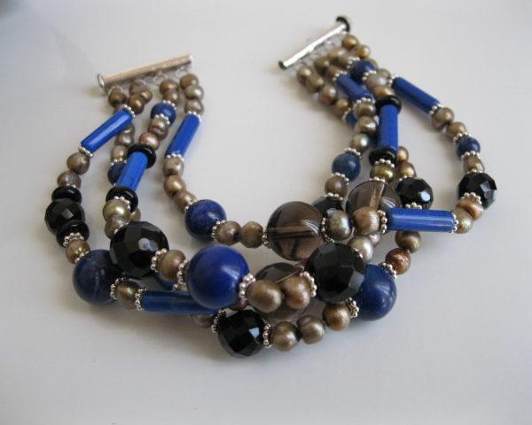 Lavina Lapis Lazuli Bracelet