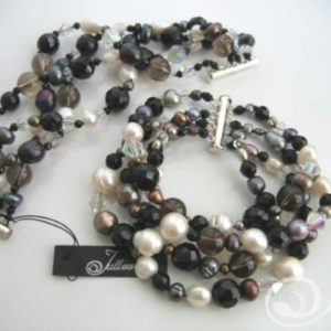 Mumbo Combo Pearl Cuff Bracelet