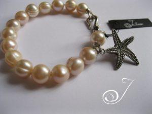 Pink-Pearl-Bracelet-Star-Fish-Charm-Julleen2