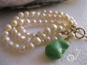 green-turquoise_pearl-bracelet